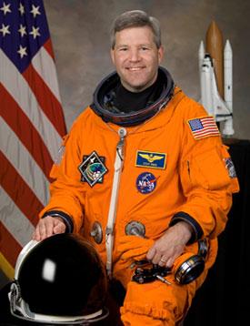 Astronaut Steve Frick